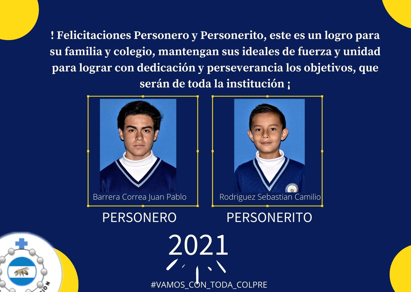 Personeria estudiantil 2021